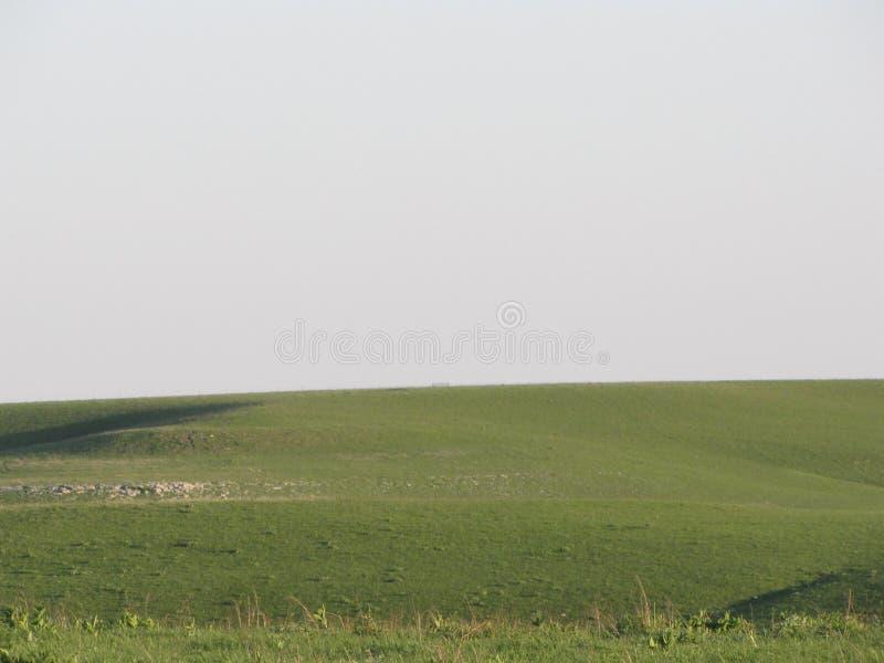 Frühjahr im Flinthills von Kansas lizenzfreie stockfotos