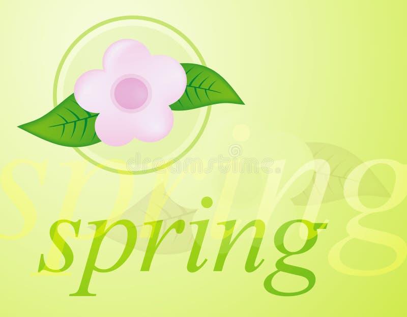 Frühling lizenzfreie abbildung