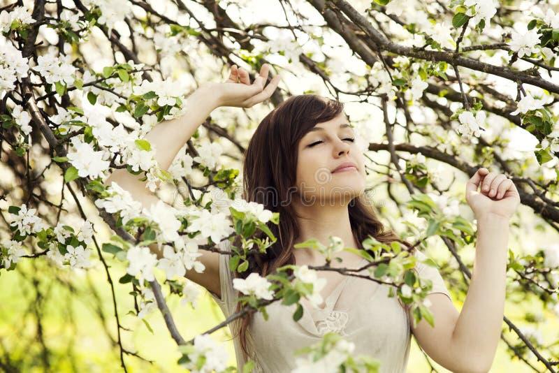 Frühling ist in der Luft stockfoto