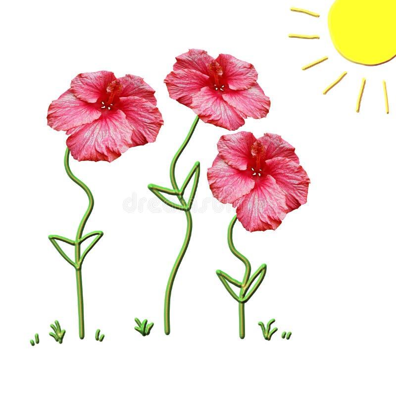 Frühling ist hier! lizenzfreie abbildung