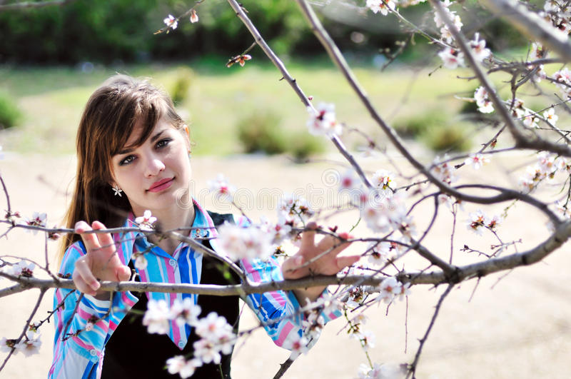 Frühling jugendlich stockfoto