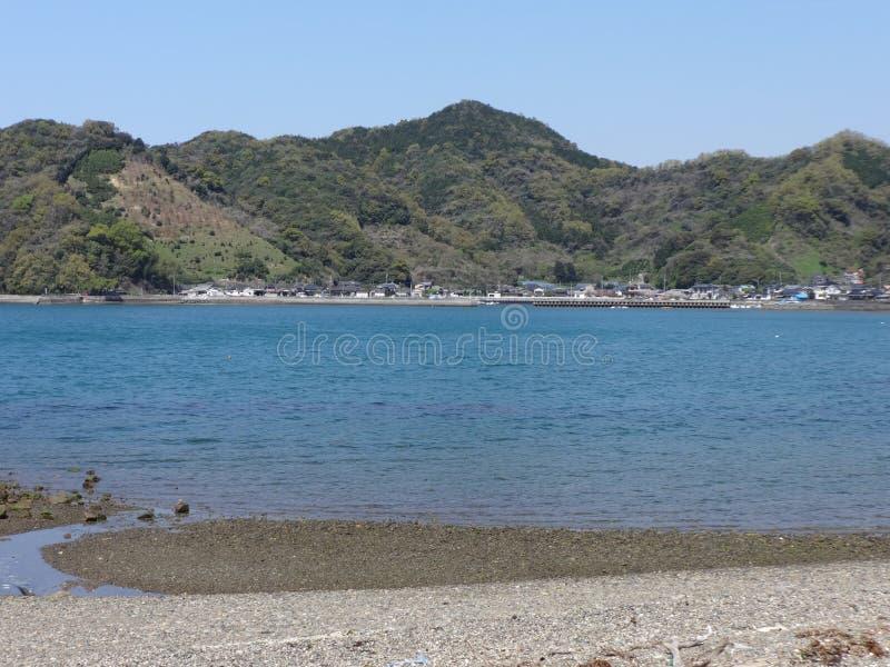 Frühling in Shiranui-Meer stockfotografie