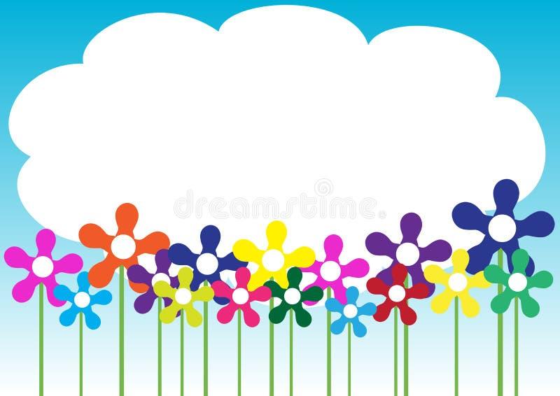 Frühling/Sommer-Hintergrund vektor abbildung