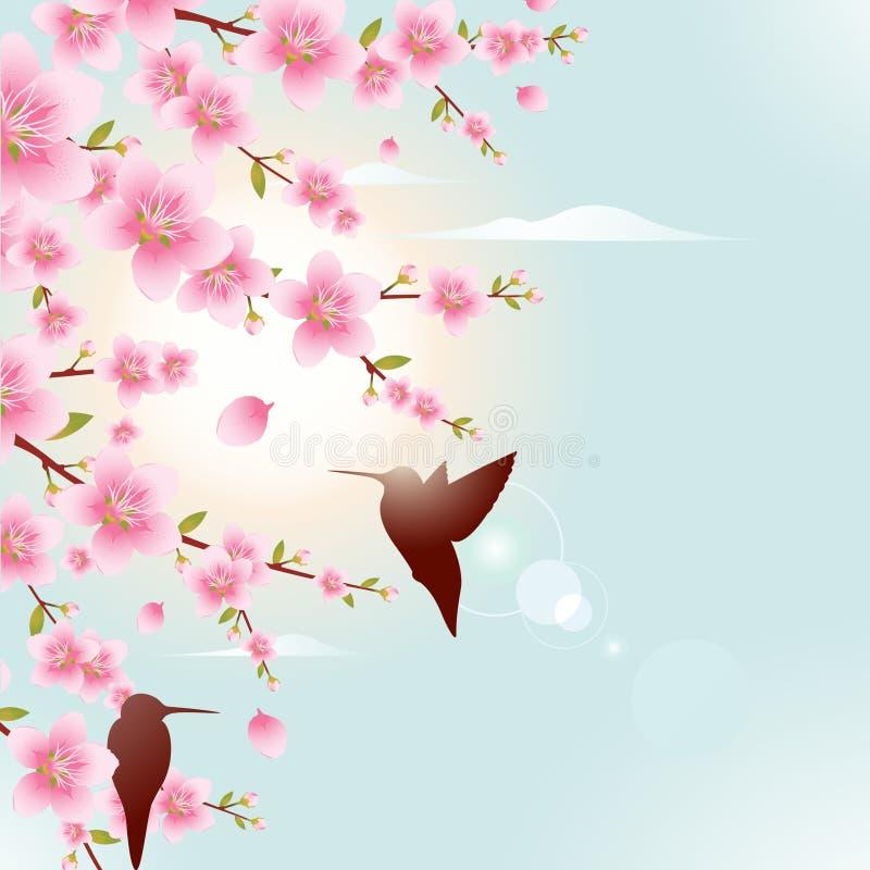 Frühlings-Abbildung stock abbildung
