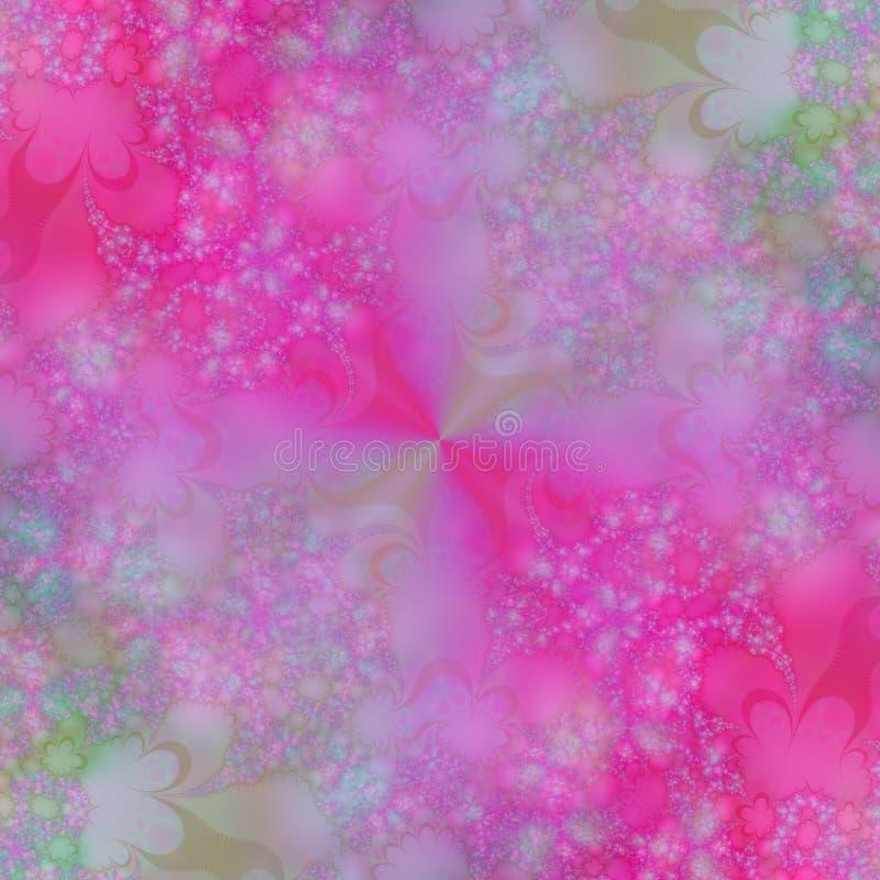 Frühlings-abstrakter Hintergrund lizenzfreie abbildung