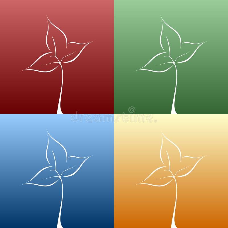 Frühlings-Blätter vektor abbildung