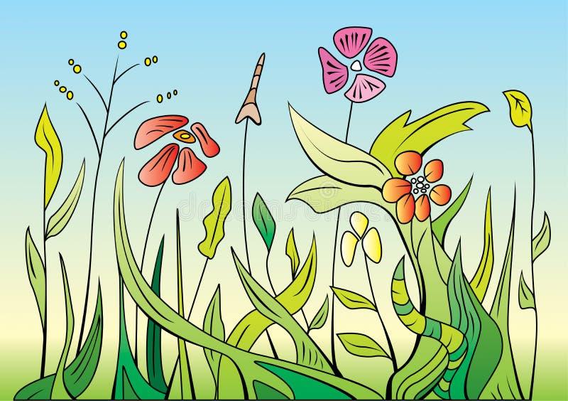 Frühlings-Blumen vektor abbildung