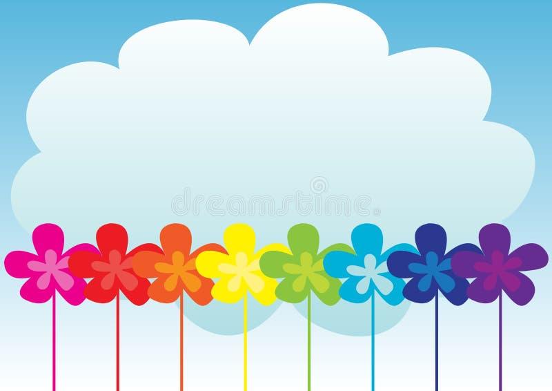 Frühlings-Hintergrund lizenzfreie abbildung