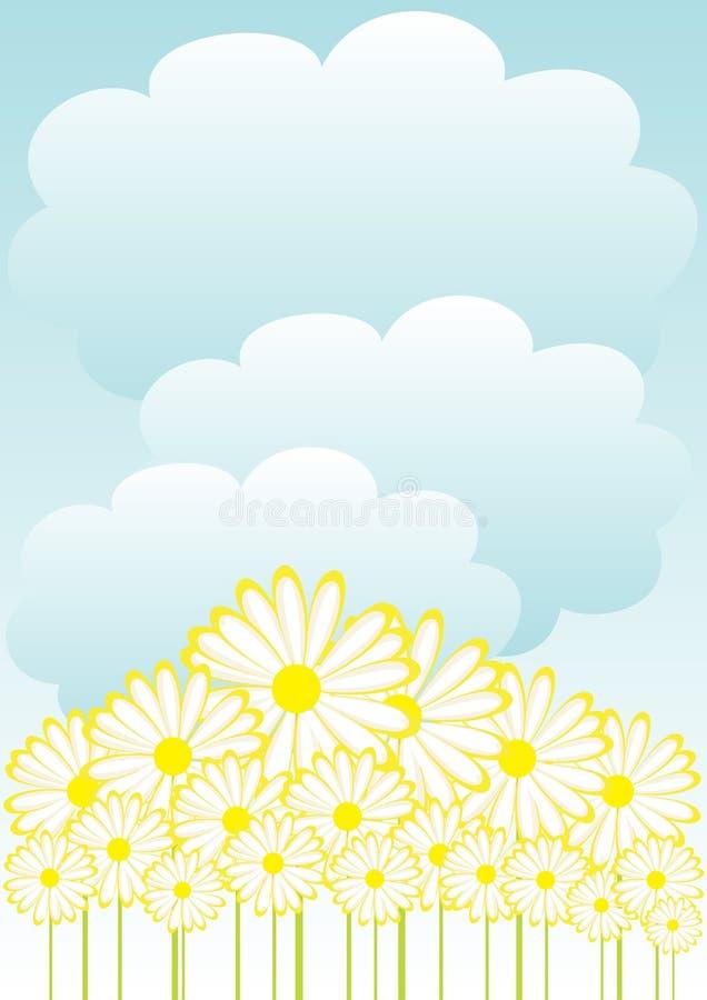 Frühlings-Hintergrund stock abbildung