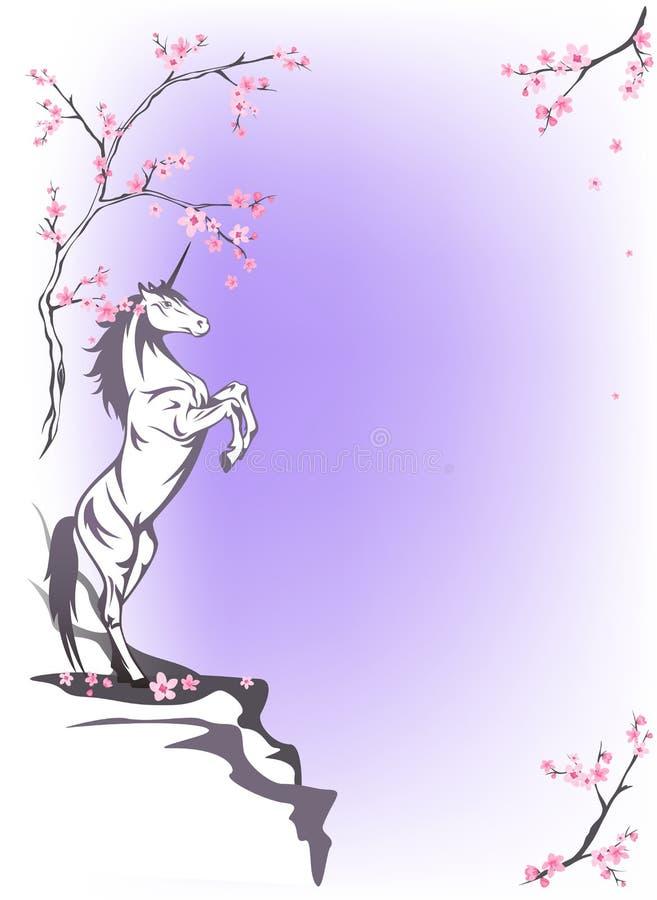 Frühlings-Märchen vektor abbildung