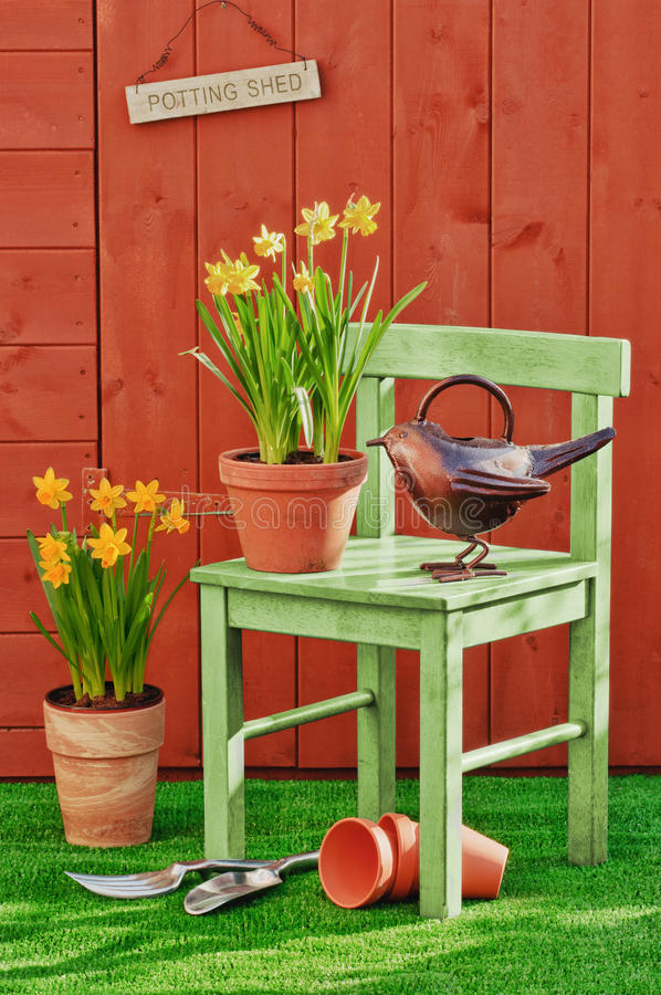 Frühlings-Pflanzen lizenzfreie stockbilder