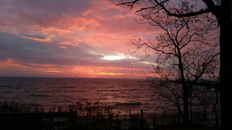 Frühlings-Sonnenaufgang lizenzfreies stockfoto