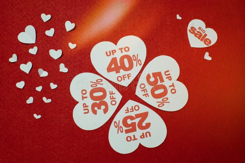 Frühlingsfeiertags-Saisonverkauf, Einkaufen, Liebe Vektorillustration ENV 10 Weiße Innere stockbilder