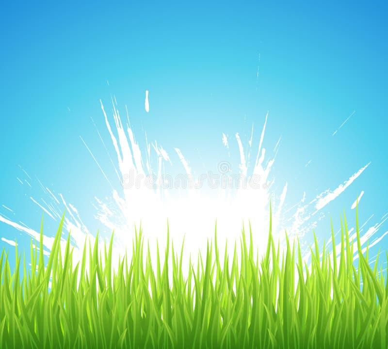 Frühlingshintergrund vektor abbildung