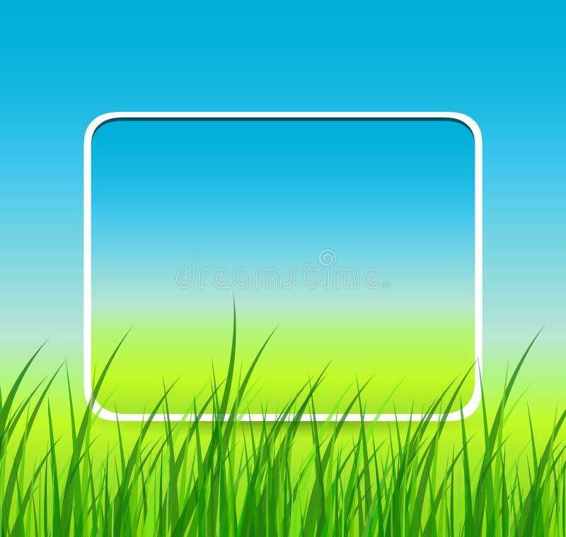 Frühlingshintergrund. vektor abbildung