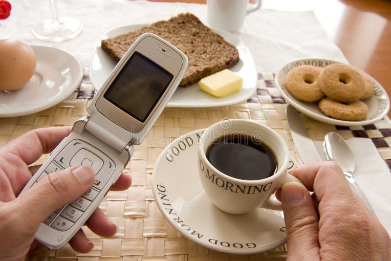 Frühstück stockfoto