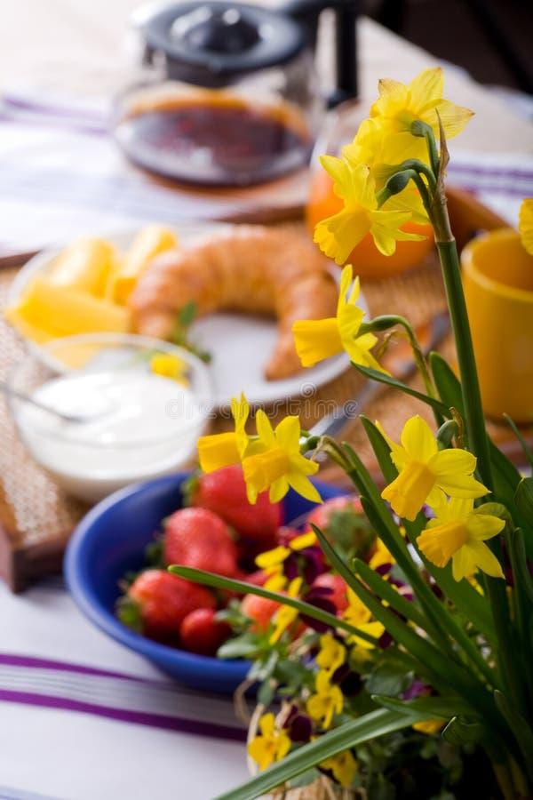 Frühstück 3 lizenzfreies stockbild