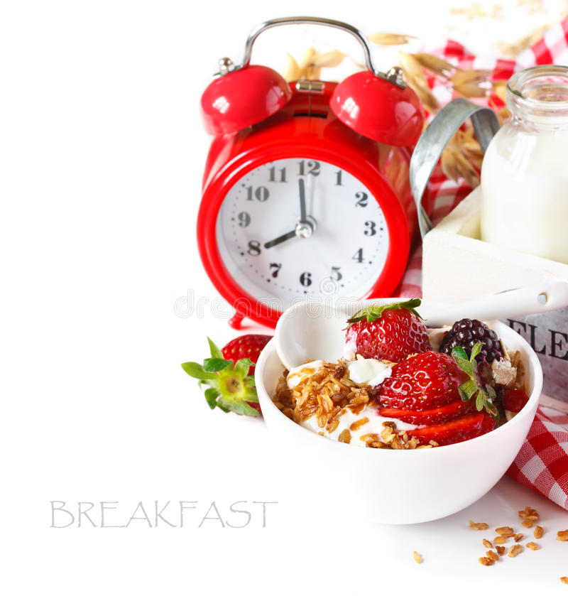 Frühstück. lizenzfreie stockfotos