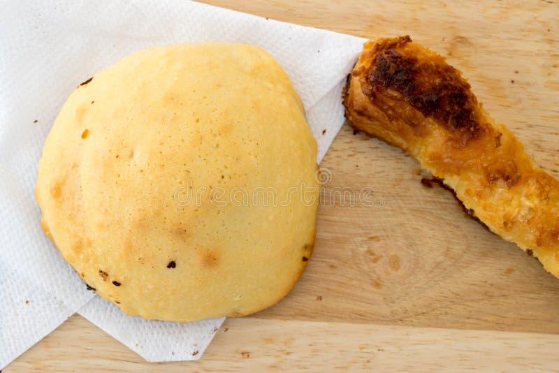 Frühstück Bäckerei auf Morgen stockbild