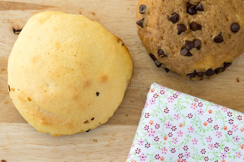 Frühstück Bäckerei auf Morgen lizenzfreie stockbilder