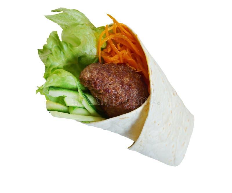 Frühstück Burritos stockfotografie