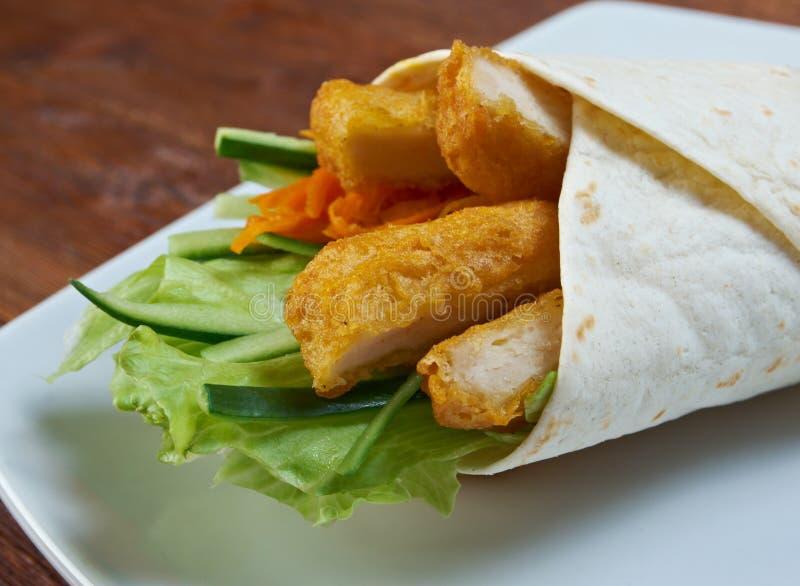 Frühstück Burritos lizenzfreies stockfoto