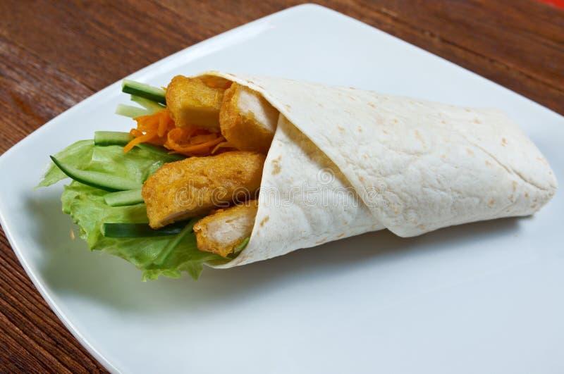 Frühstück Burritos stockbild