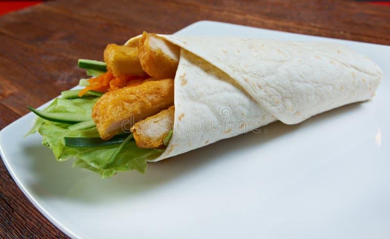 Frühstück Burritos lizenzfreie stockbilder
