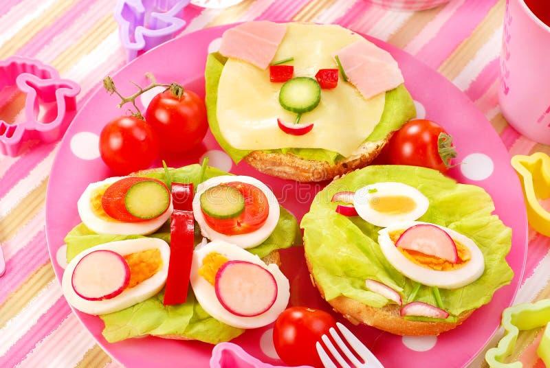 Frühstück für Kind lizenzfreie stockfotografie