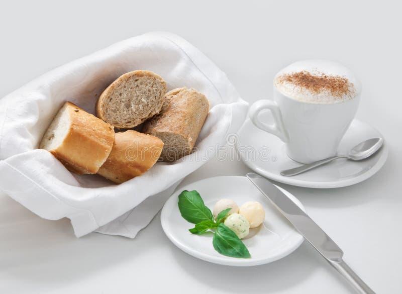 Frühstück vom Kaffee stockbild