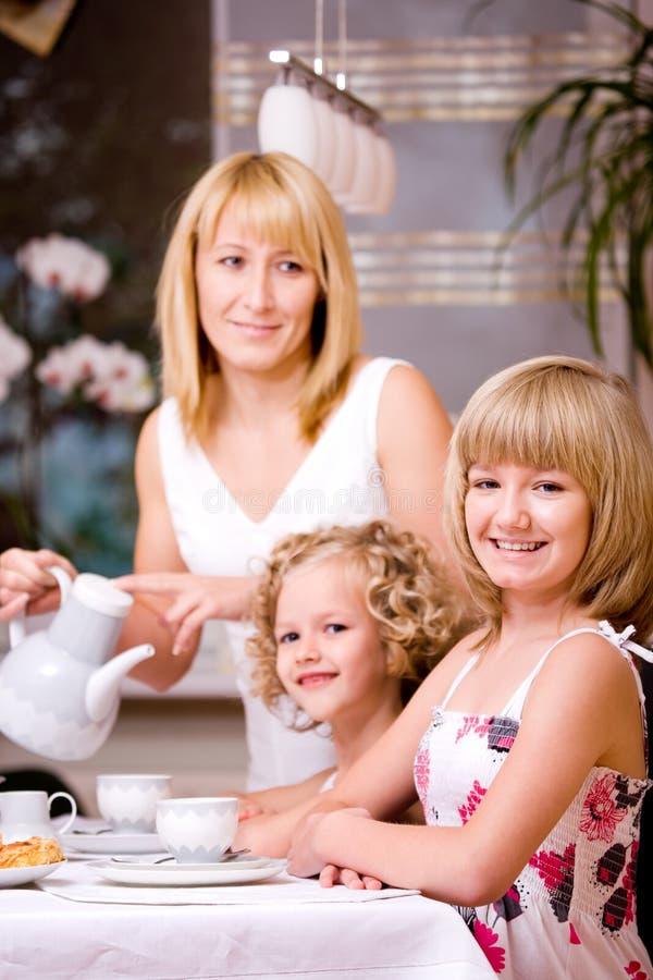 Frühstück zu Hause lizenzfreie stockfotografie
