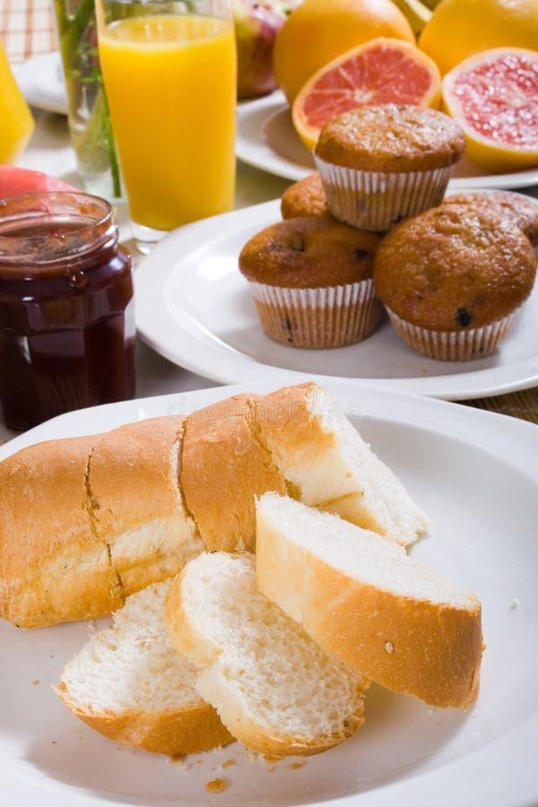 Frühstückbrot lizenzfreies stockbild