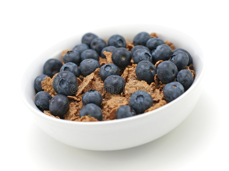 Frühstückskost aus Getreide stockbilder