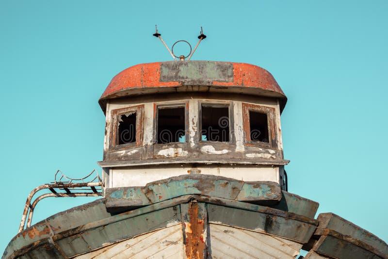 fr?mre gammalt f?r fartyg royaltyfri fotografi
