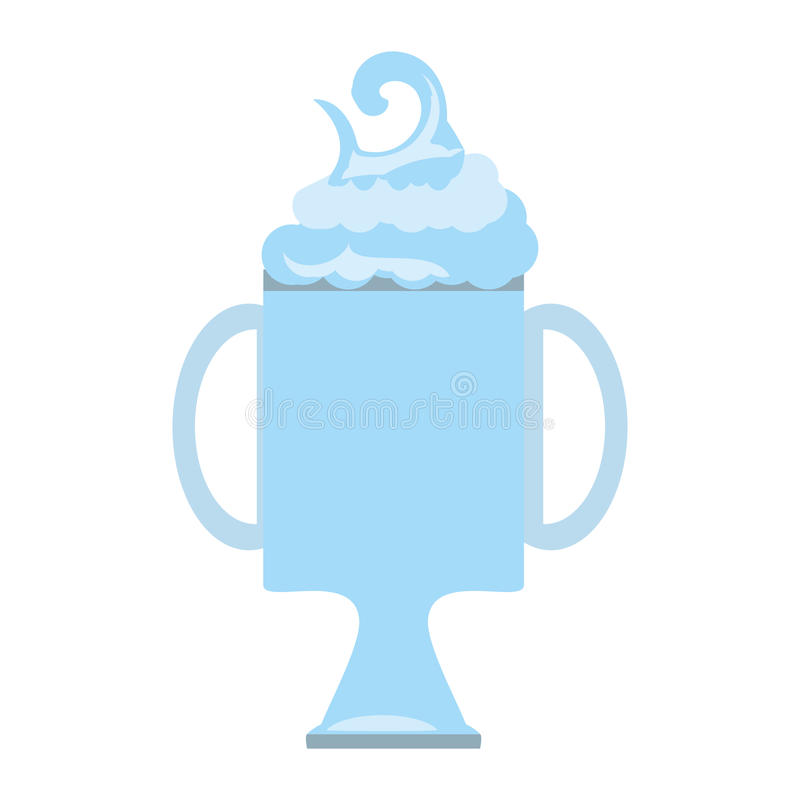 fraîchement boisson saine de smoothie illustration stock