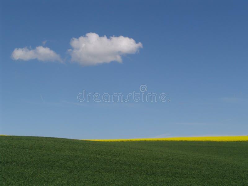 fra cielo e terra fotografia stock