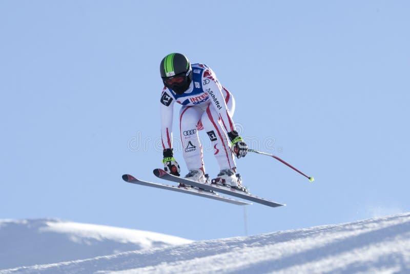 FRA: Esquí alpino Val D'Isere cuesta abajo imágenes de archivo libres de regalías