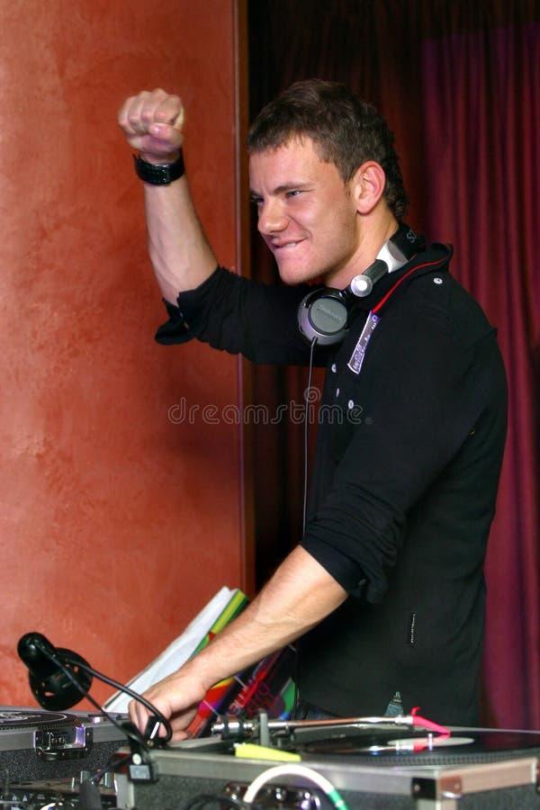 Fracas du DJ photos libres de droits