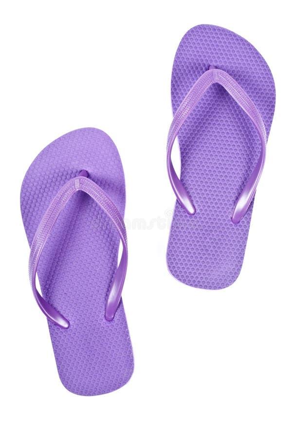 Fracasos de tirón púrpuras foto de archivo