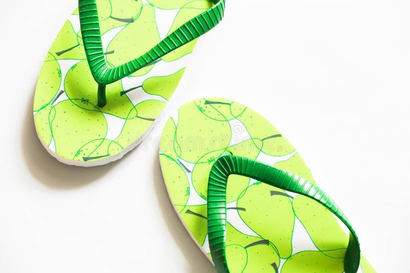 Fracasos de tirón zapatos en el verano foto de archivo