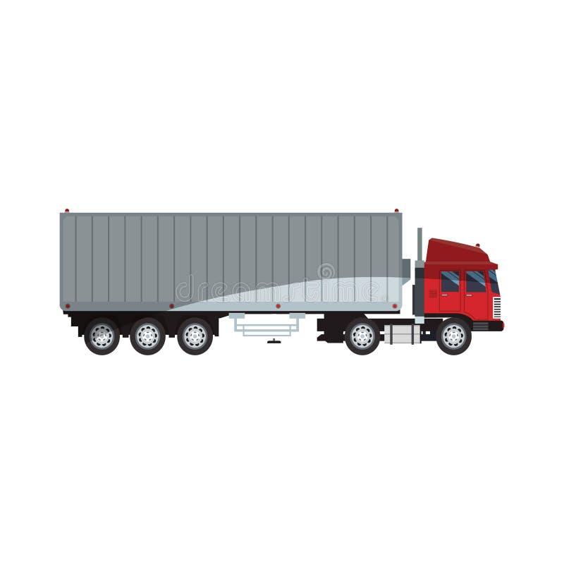 Fracht-LKW-Ikone lizenzfreie abbildung