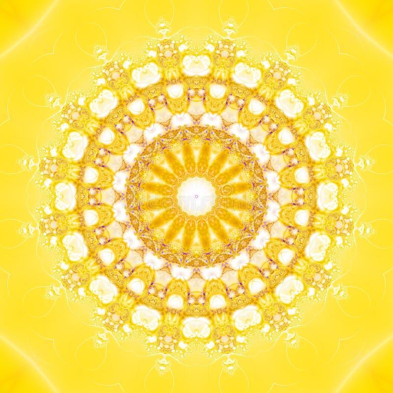 fractal ήλιος ελεύθερη απεικόνιση δικαιώματος