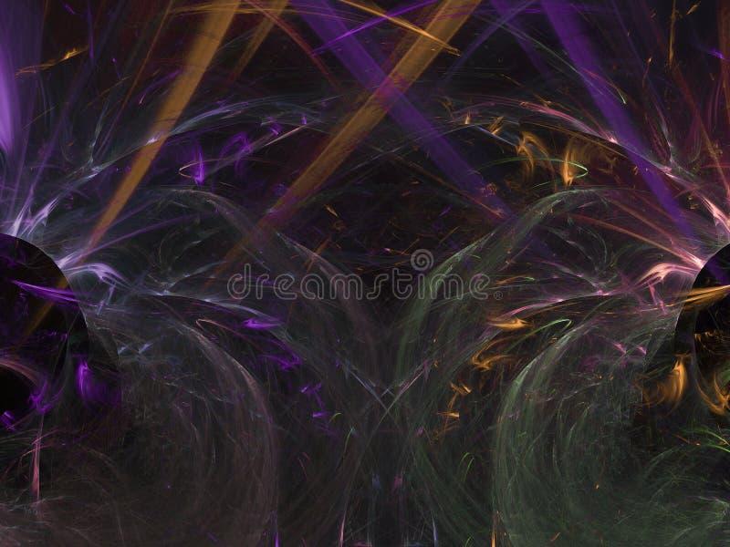 Fractal αφηρημένη κομψή δύναμη σχεδίων υποβάθρου που δίνει την επίδραση σπινθηρίσματος την υπερφυσική μορφή δυναμική διακόσμηση μ στοκ εικόνες