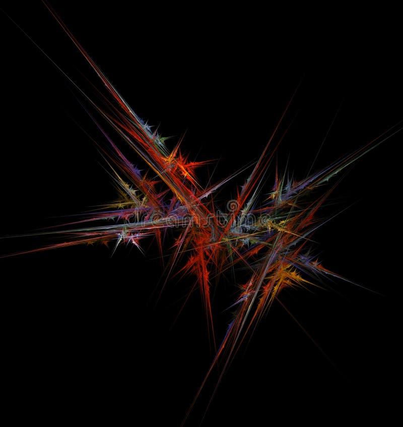 fractal γραμμές διανυσματική απεικόνιση