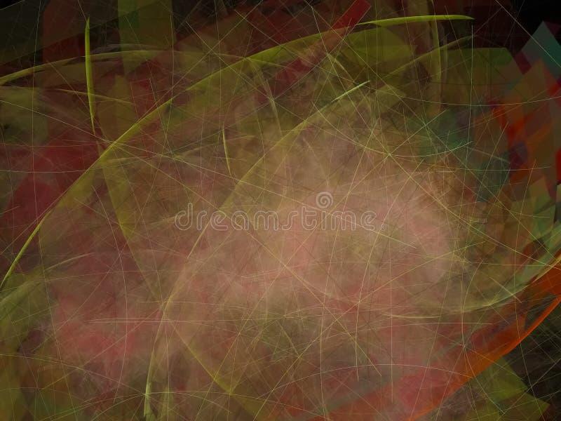 Fractal ενθουσιώδης έννοια εικόνων επίδρασης σύστασης υποβάθρου απεικόνιση αποθεμάτων