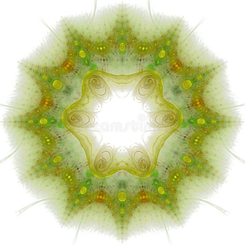 fractal λουλουδιών ελεύθερη απεικόνιση δικαιώματος