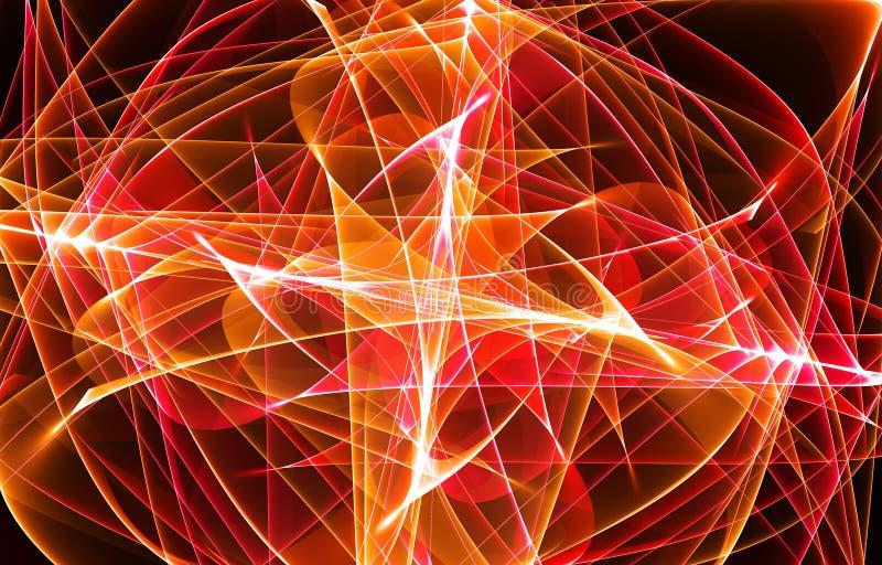 fractal πορτοκάλι στοκ φωτογραφία