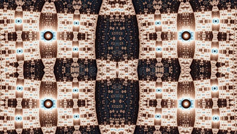 Fractal σχέδιο συμμετρίας (Julia καθορισμένη) στοκ εικόνες