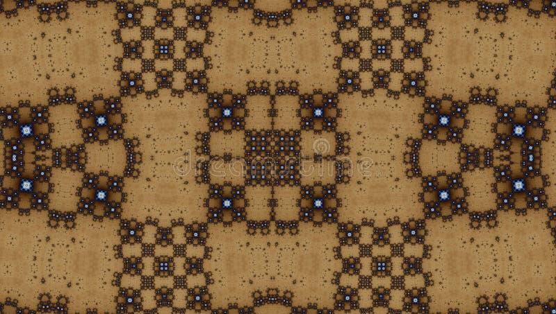 Fractal σχέδιο συμμετρίας (Julia καθορισμένη) στοκ φωτογραφία με δικαίωμα ελεύθερης χρήσης