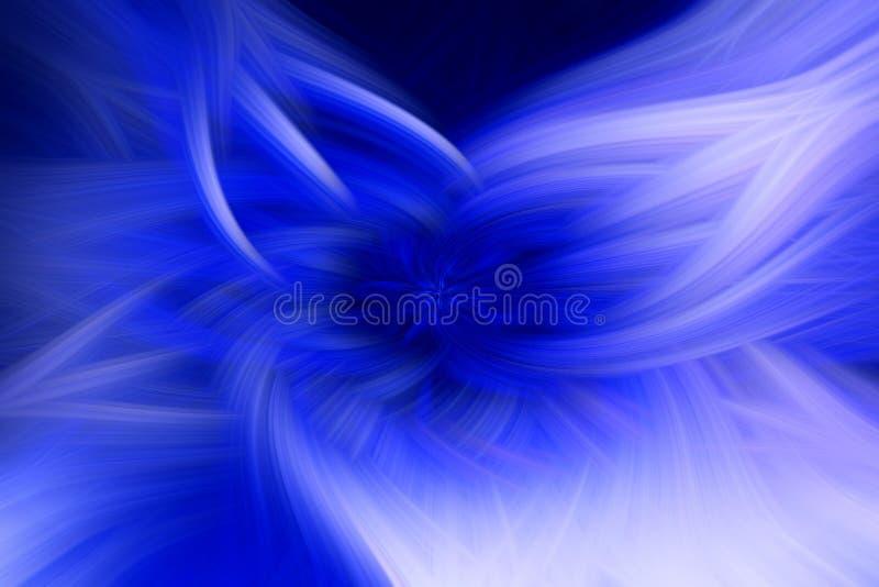 Fractal φλογών μπλε προεξοχή υποβάθρου φουτουριστικός διανυσματική απεικόνιση